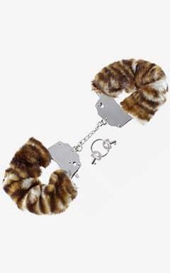 Handcuffs and binding Furry Love Cuffs - Tiger