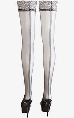 Tights & Stay-ups Black Clip-On Tights Silver 4