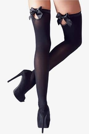 Tights & Stay-ups Stayups with Bow M