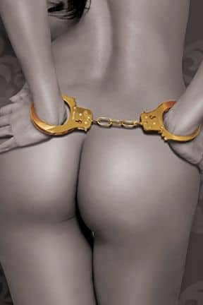 Bondage / BDSM FF gold - cuffs