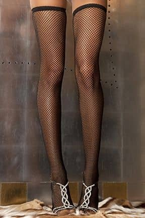 Fishnet Thigh High O/S