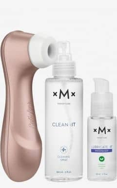 For women Satisfyer Pro + glidmedel & rengöring