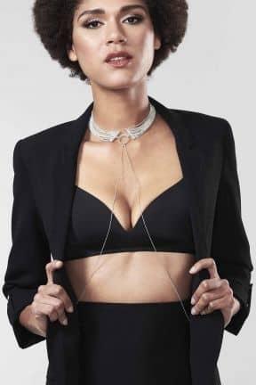 Body jevellery Magnifique Collar Silver