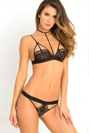 Harness Bra & Panty Set S/M