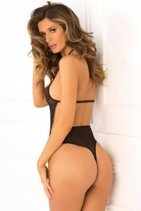 Catsuits & Bodys Hot Pursuit Lace Bodysuit S/M