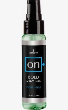 Delayspray Sensuva - Bold Delay Gel - 29 ml