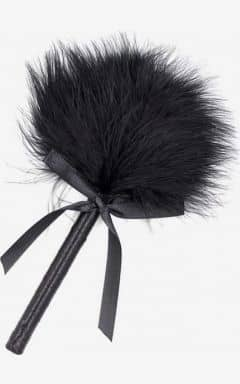 Whips & paddles Feather Tickler Black