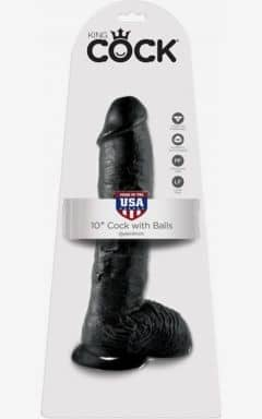 Classic Dildos King Cock Cock With Balls 25 cm
