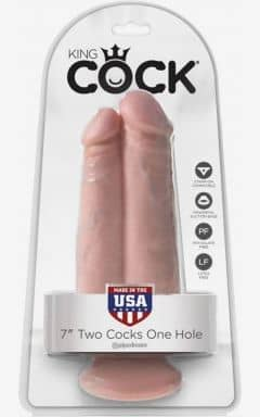 Double Dildos King Cock Two Cocks One Hole
