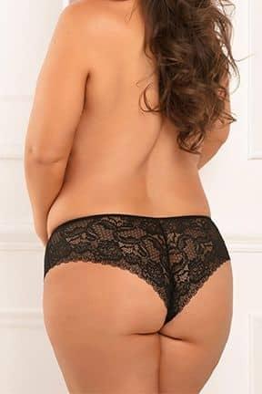 Plus Size Hot Hook Upc Crotchless Panty 3XL