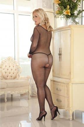 Sexy Underwear Deep V-Neck Bodystocking X-OS