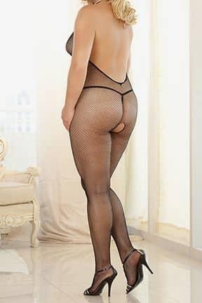 Sexy Underwear Criss X Strap Bodystocking X-OS