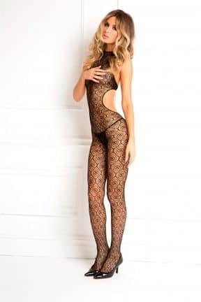 Catsuits & Bodys Indiscreet Crochet Bodystocking OS