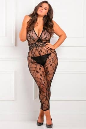 Catsuits & Bodys Lacy Movie Bodystocking X OS