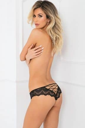 Sexy underwear Come Undone Crotchless Panty