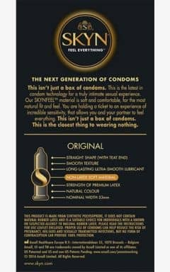 Condoms Skyn Condoms Original 10-pack