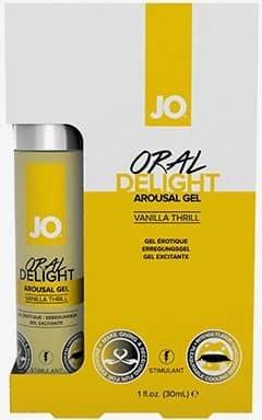 Lubricant with taste System Jo Oral Delight Vanilla