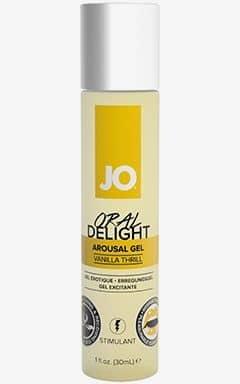 Enhancing System Jo Oral Delight Vanilla