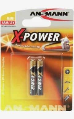 Accessories Batteri LR61 - AAAA 2-pack (Ansmann)