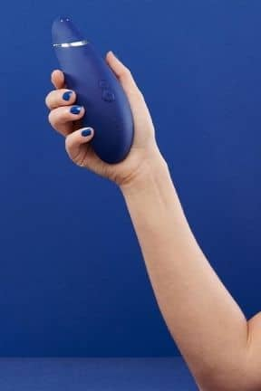 Air Pressure Vibrators Womanizer Premium Blueberry
