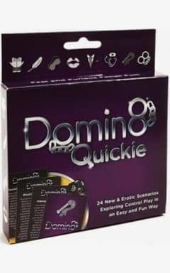 Sex Games Domin8 Quickie Card Game