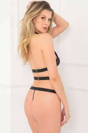Sexy Underwear Come Together Bondage Teddy S/M