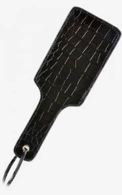 Whips & paddles FF Gold Pleasure Paddle Black