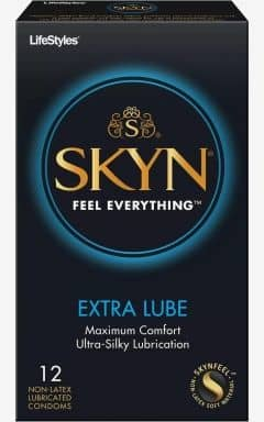 Condoms Skyn Condoms Extra Lube 10-pack