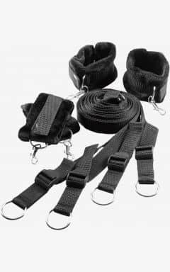 Handcuffs and binding Blaze Bed Restraint Set