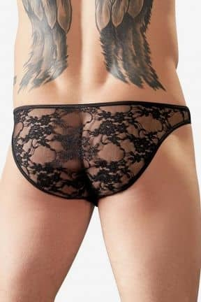 Sexy for him Brief Lace Black M