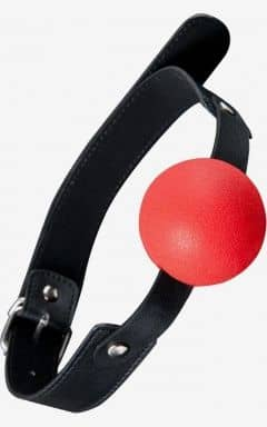 Ball Gags GP Solid Silicone Ball Gag Red