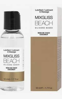 Massage MIXGLISS Silicone Beach Coconut 50ml