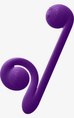 Rabbit vibrators Snail vibe purple