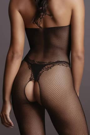 Sexy Underwear Fishnet and Lace Bodystocking