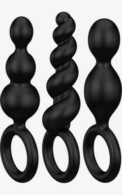 Brands Satisfyer - Booty Call Plugs Black