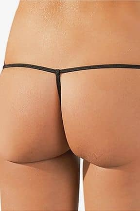 Panties with open branch Stringtrosor med öppen gren