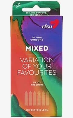 Condoms RFSU Mixpack - 30-pack