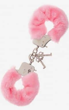 Bondage / BDSM Furry Love Cuffs - Rosa
