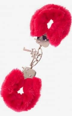 Bondage / BDSM Furry Love Cuffs - Röd