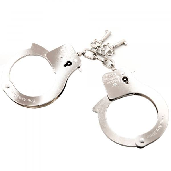 You Are Mine Handcuffs Metal